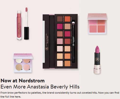 Beauty Fragrance Nordstrom anastasia beverly hills