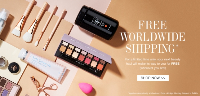 cult beauty free shipping feb 2018