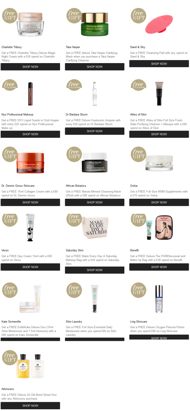 cult beauty gift with purchase see more at icangwp blogpng