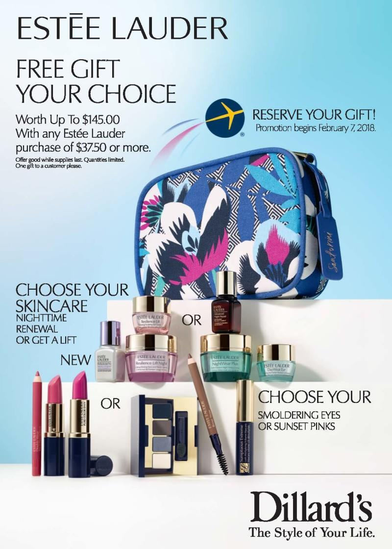 dillards estee lauder gift with purchase feb 2018 see more at icangwp gift with purchase blog