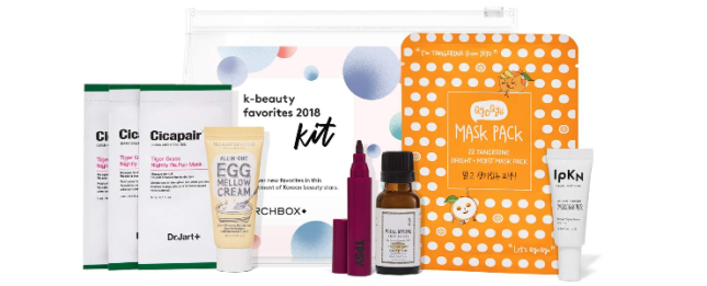 K Beauty Favorites 2018 Kit see more at icangwp blog