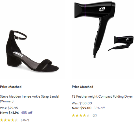 price matched Nordstrom
