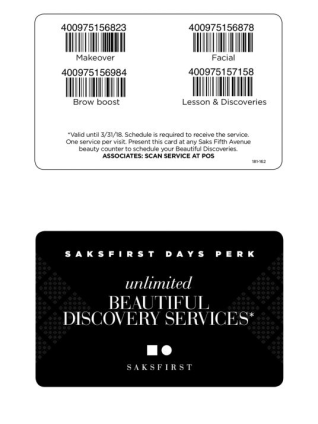 saks free beauty treatment feb 2018 see more at icangwp beauty blog