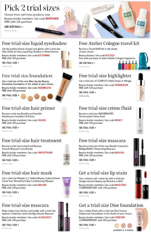 Sephora Coupons Promo Codes Coupon Codes Sephora feb 2018 see more at icangwp blog 2