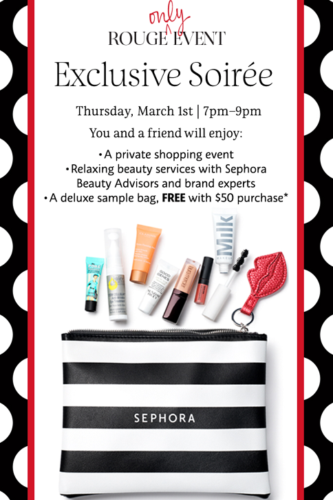 Sephora VIB Sale , April 13 to 23, Sephora Spring Beauty Event, 15% off for VIB Rouge and VIB, 10% off for BeautyInsider.