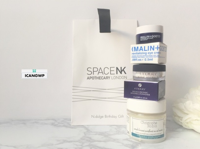 2018 space nk birthday gift review free luxury samples with any