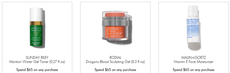 Space NK coupon Apothecary Offers and Gifts with Purchase 2