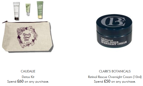 Space NK uk gwp feb 2018 see more at icangwp blog Offers and Gifts with Purchase