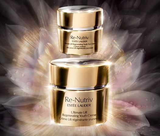 Estée Lauder Live a life of extraordinary beauty. Re Nutriv Regenerating Youth march 2018 icangwp