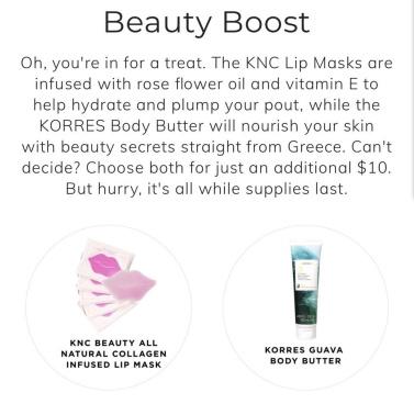 fabfitfun spring box 2018 spoiler korres see more at icangwp beauty blog