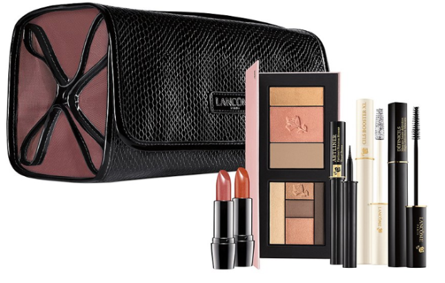 Lancome beauty box in honey rose Mothers Day Spring 2018 Purchase with Purchase at Dillards see more at icanwp blog