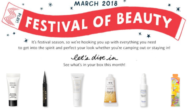 March 2018 Play By Sephora Sephora icangwp
