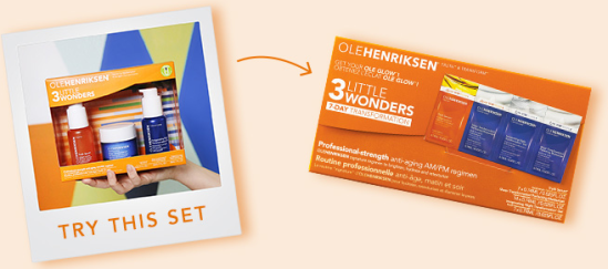ole henriksen 3pc gift march 2018
