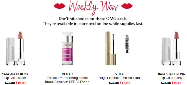 Sephora weekly wow mar 2018 icangwp blog Coupons Promo Codes Coupon Codes Sephora
