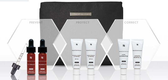 Skinceuticals Gift With Purchase Receive a 4 Piece Customizable Travel Regimen with any 185 purchase mar 2018 icangwp