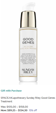 Sunday Riley Makeup Skincare Nordstrom