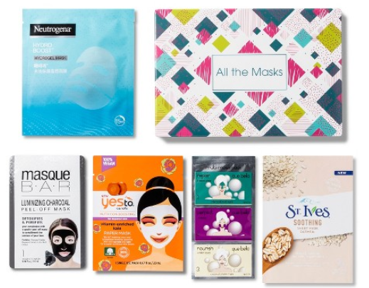 Target Beauty Box ALL THE MASKS Target april 2018 icangwp blog