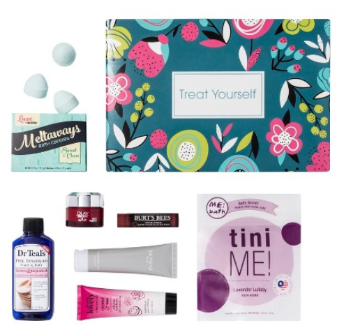 Target Beauty Box Treat Yourself Target april 2018 icangwp blog
