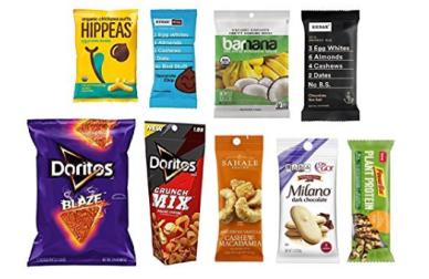 Amazon Sample Boxes snack april 2018