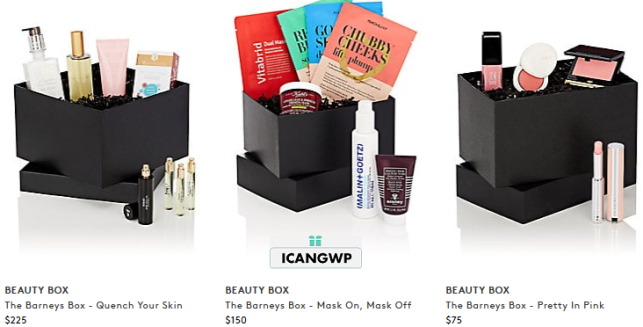 barneys beauty box spring 2018 see more at icangwp blog