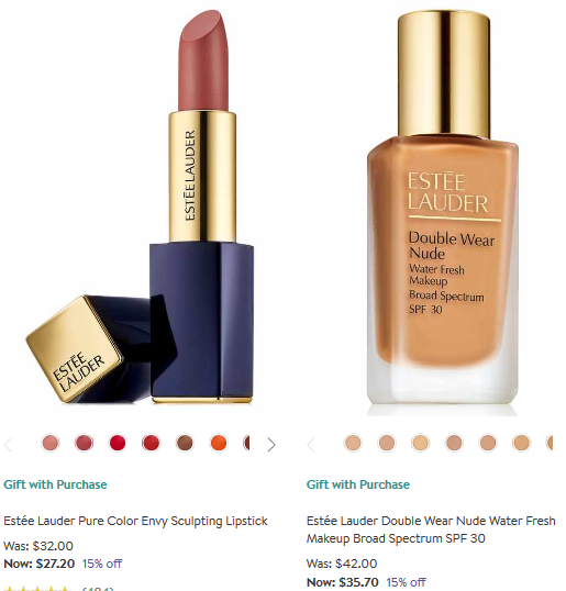 Beauty Sale 15 percent off at Nordstrom