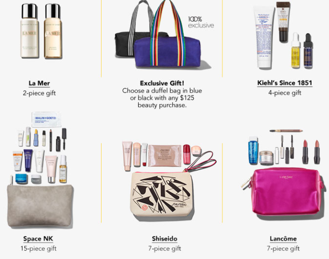 HOT  Ulta Vs Bloomingdale s  22-Piece Gift Bag w   75 and Beauty Event  Free Gifts 70507444a7bd0