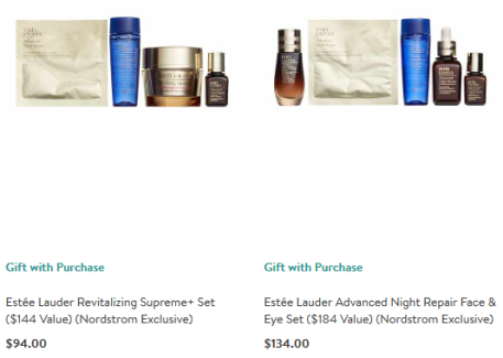 Estée Lauder Gift sets at Nordstrom exclusive icangwp beauty blog