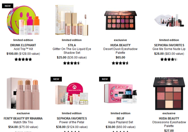 Exclusive Products Sephora icangwp