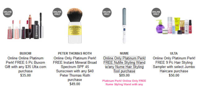 Gifts with Purchase Ulta Beauty
