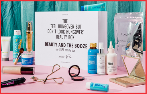 REVOLVE Beauty x LPA Beauty and the Booze Box apr 2018 see more at icangwp beauty box blog