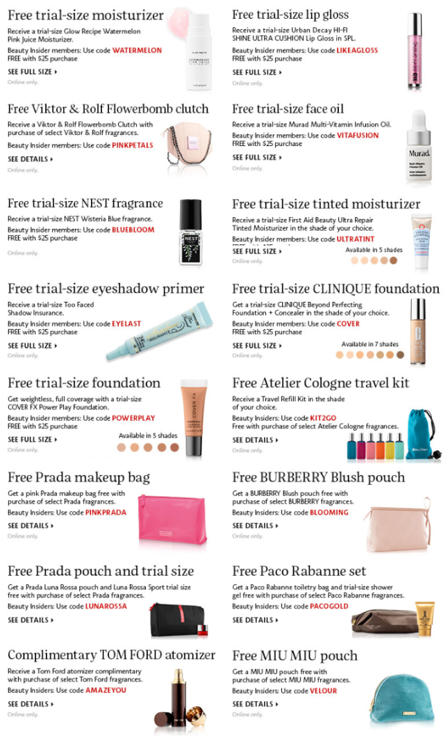 Sephora Coupons  Promo Codes   Coupon Codes   Sephora april 2018.png