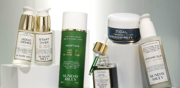 Space Nk NEW EXCLUSIVE Sunday Riley skincare launches at Space NK