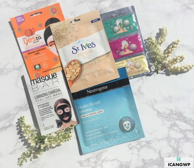 target beauty box all the masks icangwp