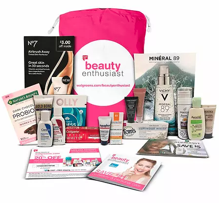 walgreens beauty enthusiast sample bag with 20 april 2018 see more at icangwp blog