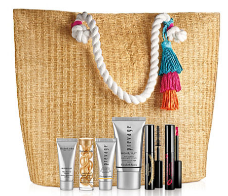 Elizabeth Arden 7 pc. Prevage Tote Set Purchase with Purchase icangwp blog