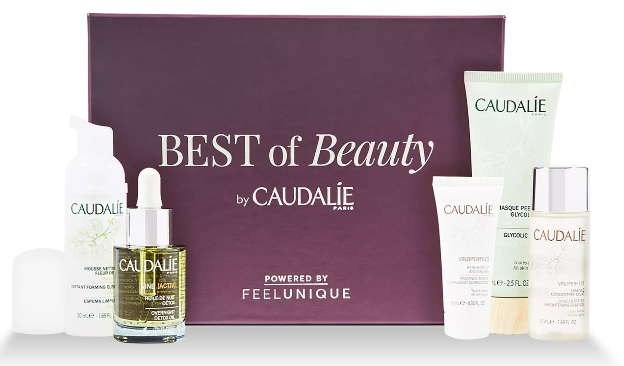 Feelunique caudalie beauty box Makeup Skincare Haircare Fragrance