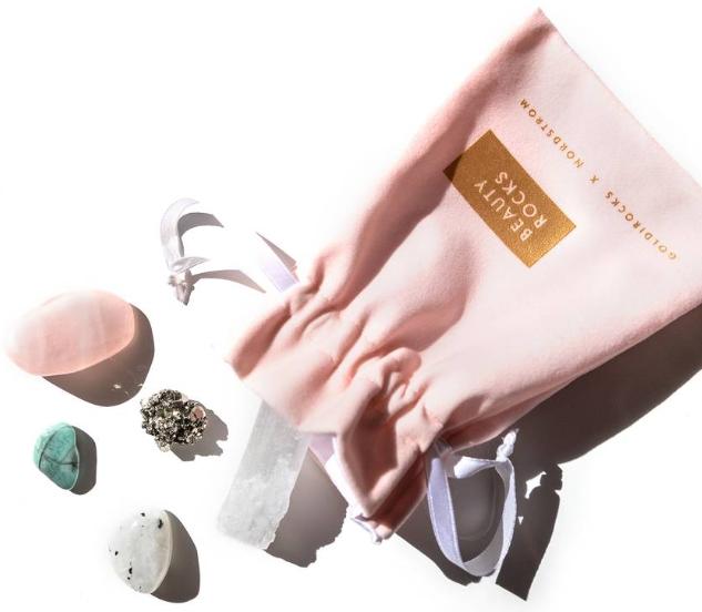 Goldirocks x Nordstrom Beauty Rocks Crystal Set Limited Edition Nordstrom icangwp blog