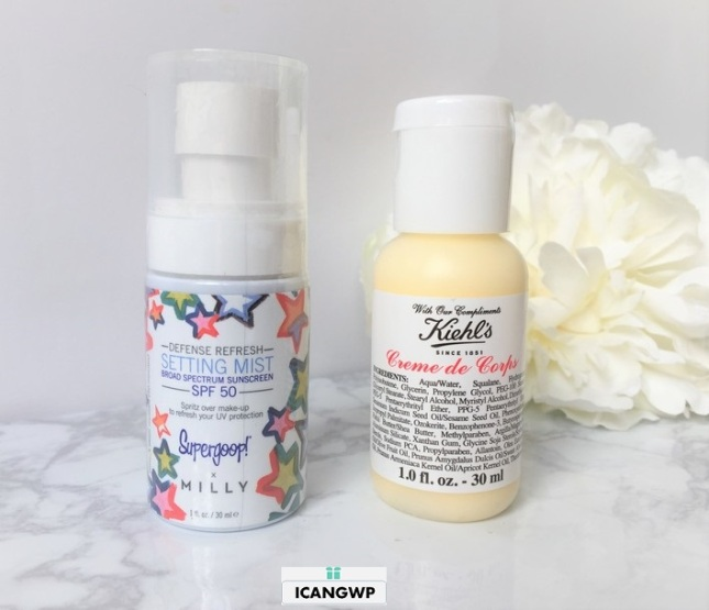 Sephora Favorites Summer Sun On The Fly kiehl icangwp