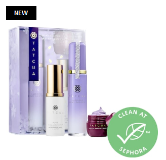 Skincare For Makeup Lovers Instant Dewy Glow Set Tatcha Sephora icangwp