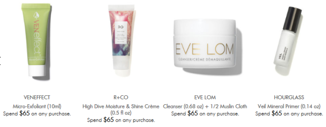 Space NK gwp may 2018 Offers and Gifts with Purchase icangwp blog