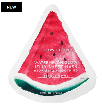 Watermelon Glow Jelly Sheet Mask Glow Recipe Sephora icangwp blog