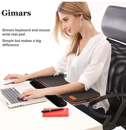 Amazon.com Gimars Memory Foam Set Keyboard Wrist Rest Pad Mouse Wrist Rest Support For Office Computer Laptop Mac Durable Comfortable Lightweight For Easy Typing Pain Re