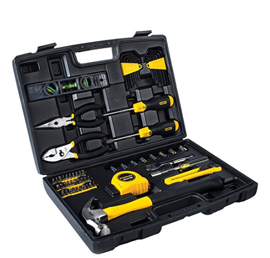 Amazon.com Stanley 94 248 65 Piece Homeowner s Tool Kit Home Improvement