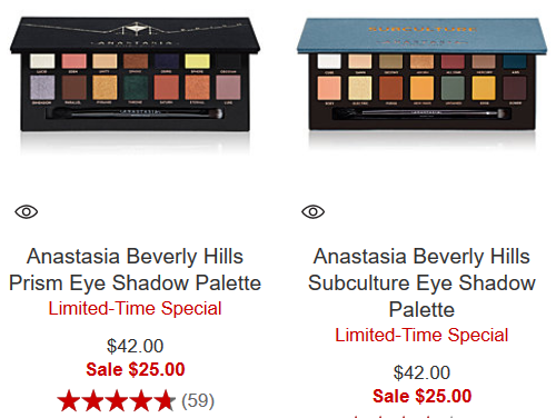 Anastasia Beverly Hills prism palette sale Makeup Sale Clearance Macys icangwp blog