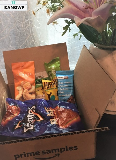 my amazon snack box icangwp blog.JPG