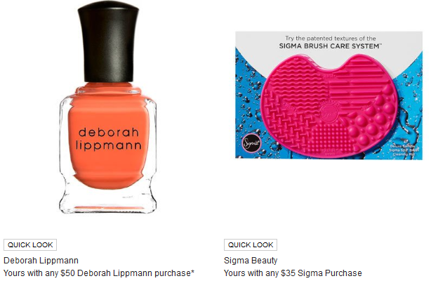 neiman marcus camp gorgeous sigma gift with icangwp blog
