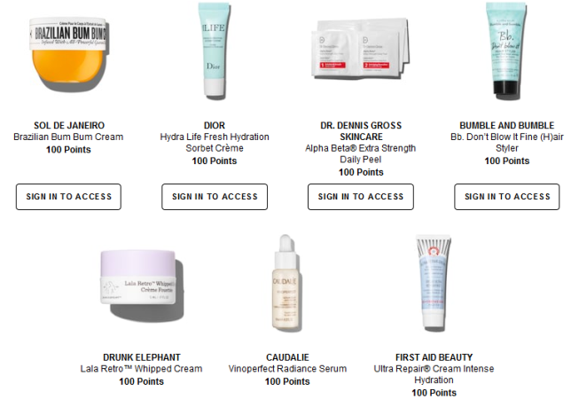 Rewards Bazaar Sephora june 2018 icangwp beauty blog