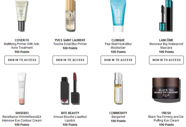 Rewards Bazaar Sephora june 2018 icangwp blog