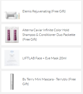 SkinStore coupon free gift with 100 icangwp beauty blog