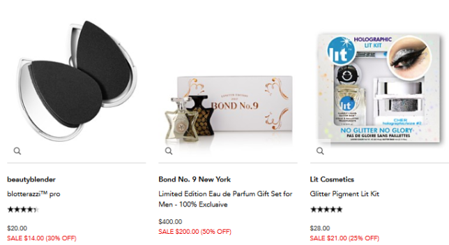 summer beauty sale Bloomingdales icangwp blog